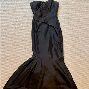 Monique Lhuillier black dress